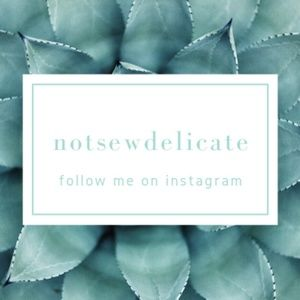 Follow Me On Instagram At notsewdelicate